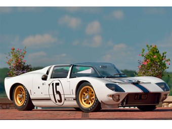 The only GT40 Roadster with racing history heads to auction