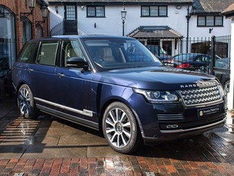 Prince Phillip's Range Rover for sale