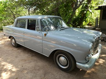 1963 Mercedes-Benz 190C – Today's Tempter