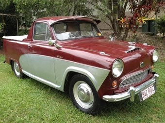 1955 Austin A50 – Today's Tempter