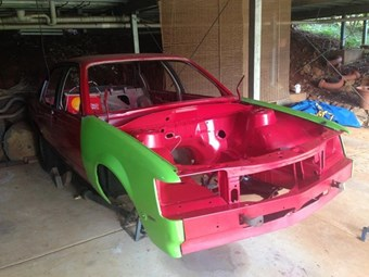1982 Holden Commodore SS - today's project tempter