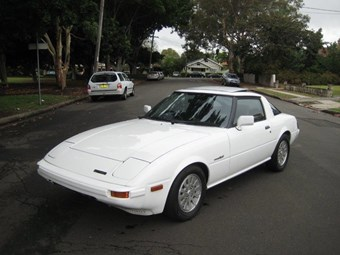 1984 Mazda RX-7 turbo - today's rotary tempter