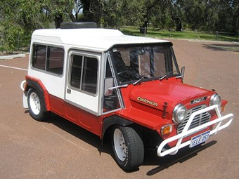 1981 Mini Moke Californian - today's tempter