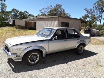 1975 Torana SL/R5000 - today's muscle tempter