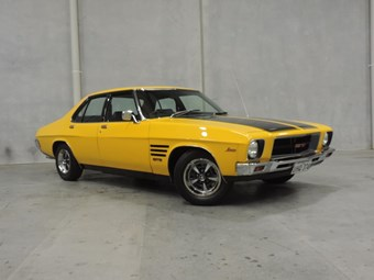 1974 Holden HQ GTS - today's tempter