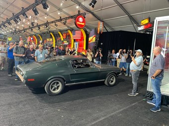 The real Bullitt Mustang is up for auction