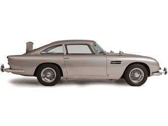 James Bond Aston Martin sells for $9.4 million