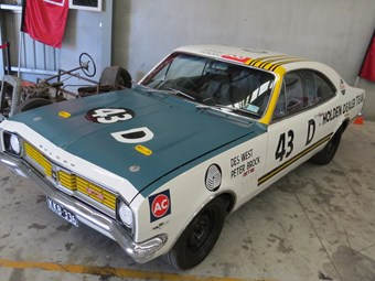 Brock Bathurst car up for auction at Graysonline - video