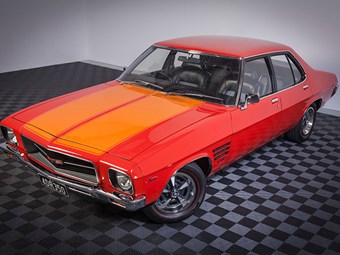 1973 HQ Holden GTS 350 4-speed reader resto