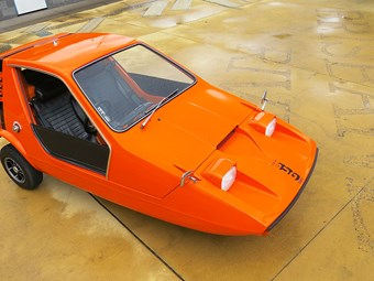 Bond Bug microcar - seventies sensation