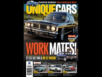 Work Mate - Ford Falcon XY GS V8 panelvan
