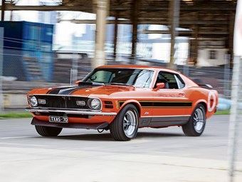 1970 Mach 1 Windsor 2V: 50 years of Mustang