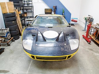 Ford GT40 barn find