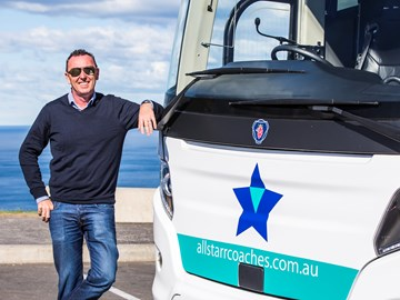 STAR OF THE SHOW – ALLSTARR COACHES