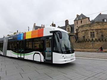 FRENCH CITY TO RECEIVE REMAINING 24.5-METRE ELECTRIC BUSES SOON
