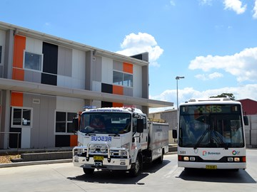 BUSWAYS THANKS SES WORKERS ON 'WEAR ORANGE WEDNESDAY'