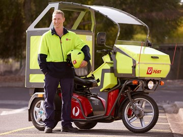 Australia Post in electric vehicle roll-out