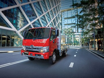 New 721 leads the way in upgraded Hino 300 Series