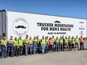 MaxiTrans joins the Movember campaign