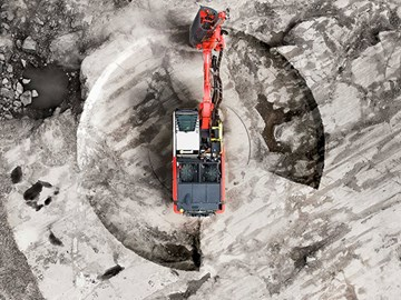 Sandvik Ranger DXi surface drill rig unveiled