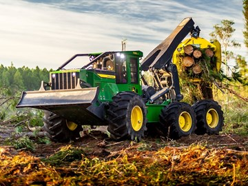 Deere Bogie Skidder gains traction