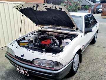 1986 Holden VL Commodore Berlina – Today's Tempter