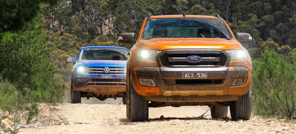Volkswagen Amarok V6 vs Ford Ranger Wildtrak