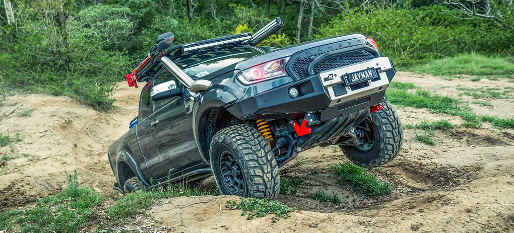 Custom Ford Ranger PXII: Video review cover