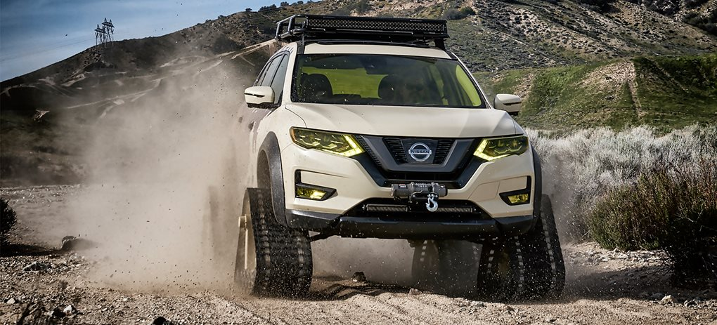 Nissan Rogue Trail Warrior cover