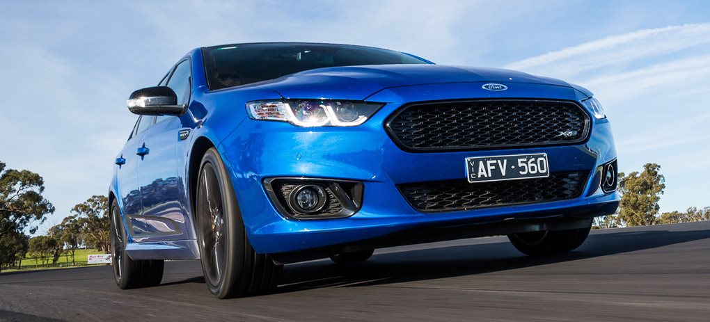 Ford XR8 sprint manual review