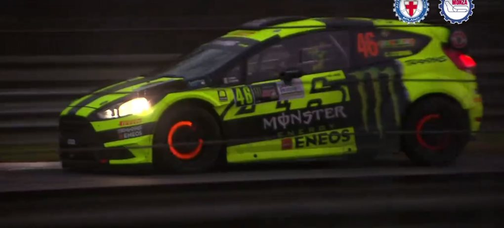Valentino Rossi's masterful rally overtake