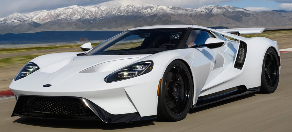 2017 Ford GT white final