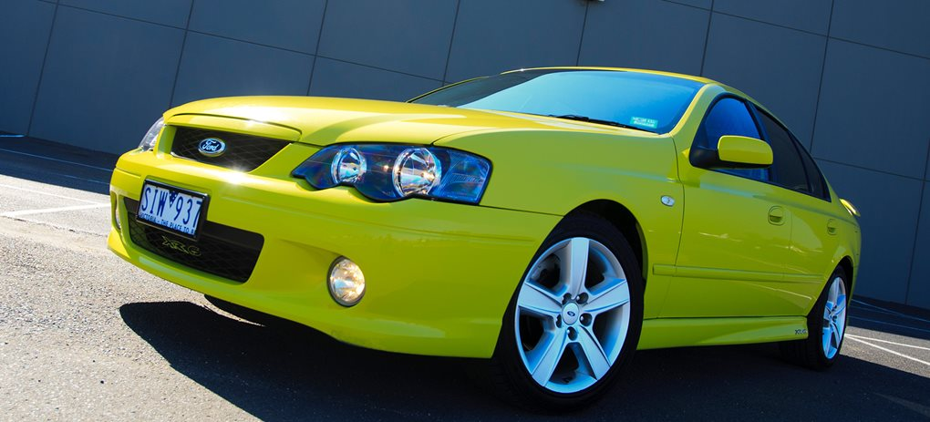 The Ford Falcon XR6 Turbo