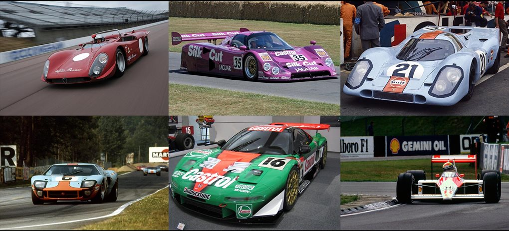 most beautiful race cars
