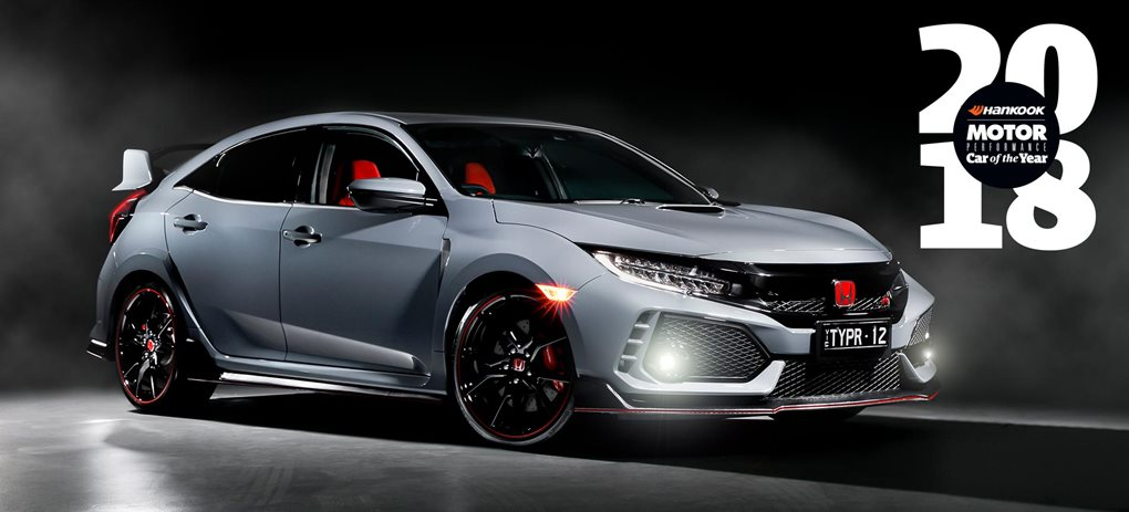 Honda Civic Type R Performance Car of the Year 2018 Winner introduction feature