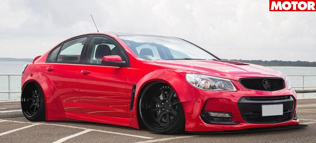Holden VF Commodore wide body kit