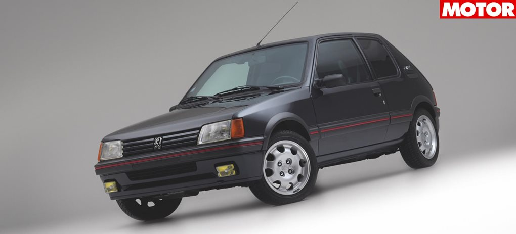 Armoured 1990 Peugeot 205 GTi for sale