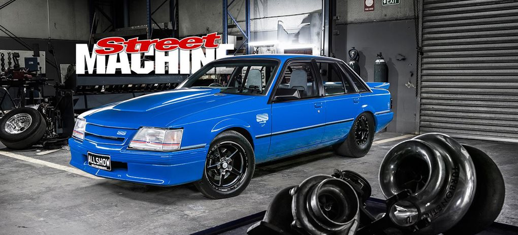 VK Commodore Blue Meanie ALLSHOW wide