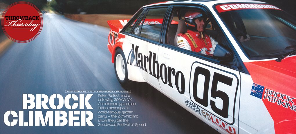 Peter Brock at Goodwood Festival of Speed