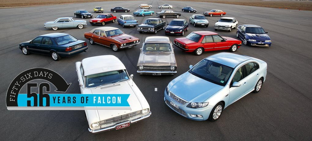 Ford Falcon models since 1960