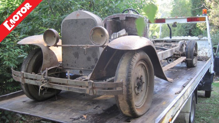 Aussie Barn Find Car Worth Millions