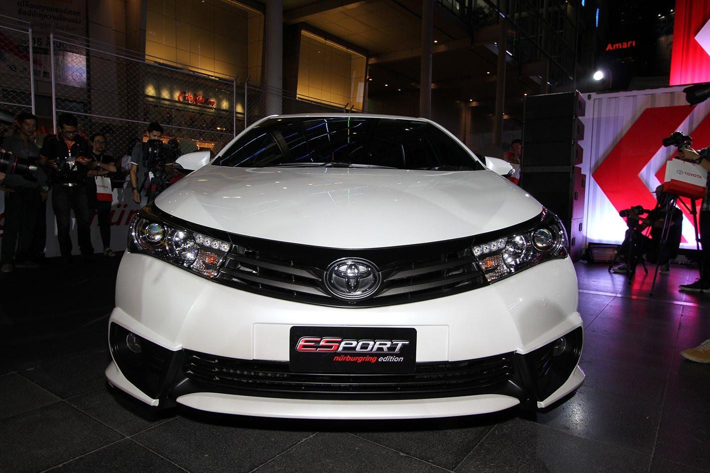 Toyota corolla altis esport nurburgring edition