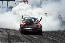 SICKO Mustang burnout Summernats