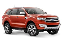 Ford Everest model release China