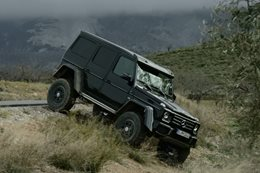 Mercedes-Benz G 500 4x4² Concept review
