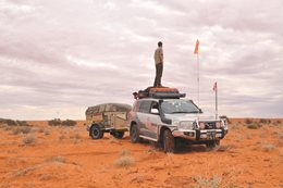 Getting lost with Hema Maps in the Simpson Desert