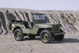 WW2 US Army Jeep