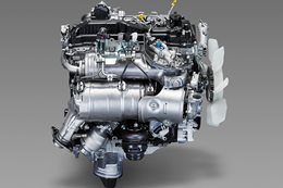 Toyota's new cleaner and more efficient turbodiesel engine, the GD-Series: 1GD-FTV-4