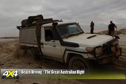 The 4X4 Australia gang travelled smoothly along the Great Australian Bight recently thanks to teamwork, the right gear and careful planning.