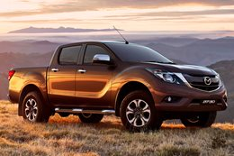The revamped Mazda BT-50
